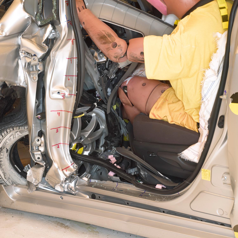 Honda Pilot Supercharger: 2003 Honda Pilot Crash Test Results