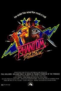 Poster original de El fantasma del Paraíso