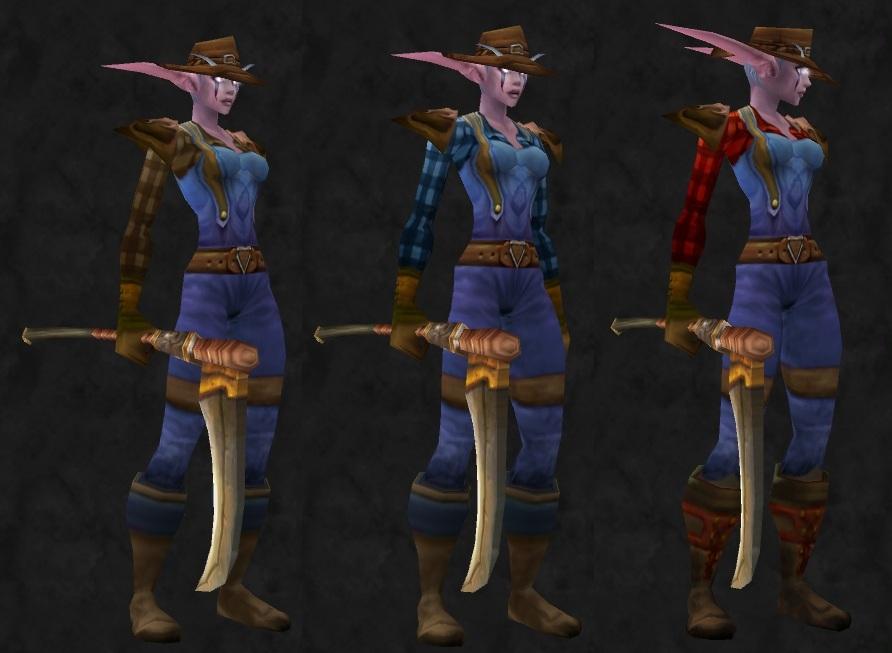 Swords, Maces, Leather & Laces: The Farmer Mog - Cloth