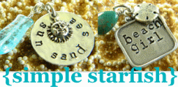hand stamped beach jewellry