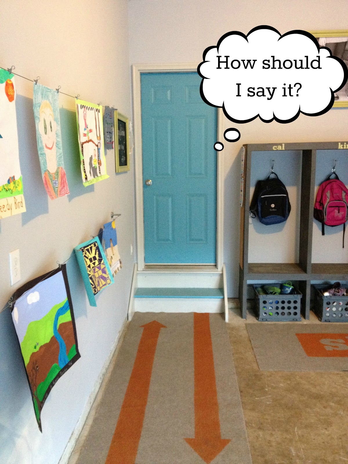 47 creative entryway and mudroom ideas - Diy Garage Mudroom Makeover For The Real Family