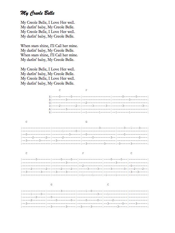 Cajun love song lyrics