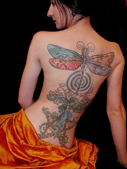 Sexy tattoo art body design