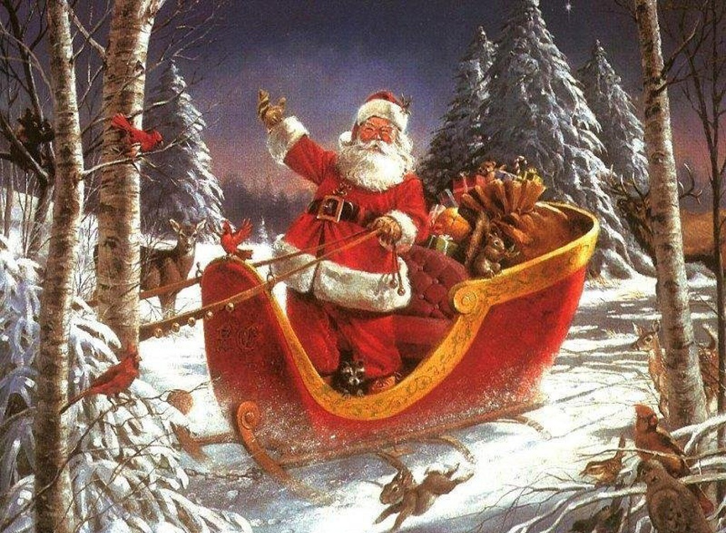Now With Normal Santa Claus Picture , Coming And Saying Hohoho Merry  Christmas And Happy New Year 2012 For All , Have Fun And Enjoy.