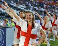 Englan Supporter in euro 2012