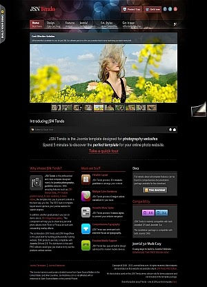 JSN Tendo - Joomlashine templates 2.5-3.0
