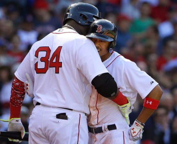 Mookie-Palooza At Fenway; Red Sox Romp, 9-4