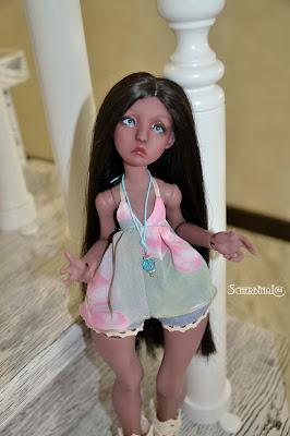 БЖД кукла Lillycat Manon