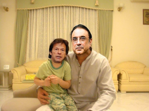 Asif Ali Zardari Latest Funny Pictures