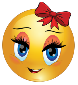Red Bow Smiley