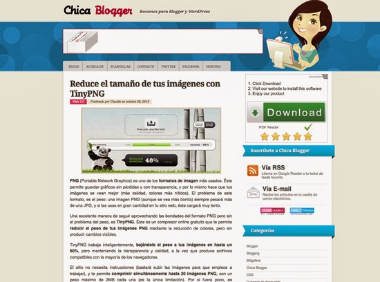 Chica Blogger