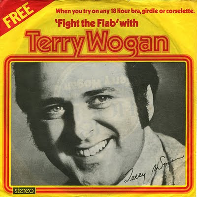 Terry Wogan Fight The Flab single - front cover