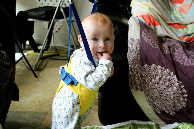 Baby Boy Archer Bouncer Jojo Maman Bebe