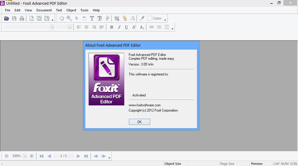 Foxit Advanced PDF Editor with Paragraph Editing