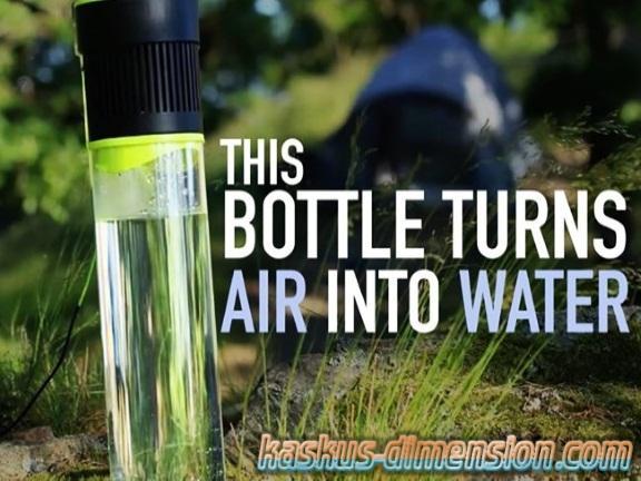 Self Filling Water Bottle