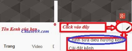 thay đổi giao diện youtube