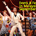 Events in Malaysia for September 2015
