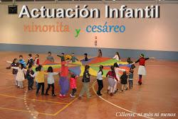 ACTUACIÓN INFANTIL EN EL PABELLÓN