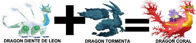 como sacar el dragon coral en dragon city combinacion 4