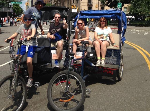 Central Park Tours - Private Pedicab Tours