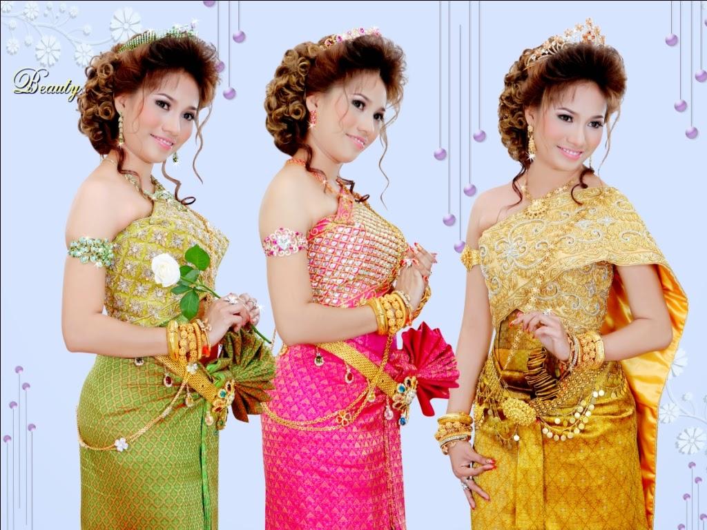Cambodia Traditional Wedding Dress