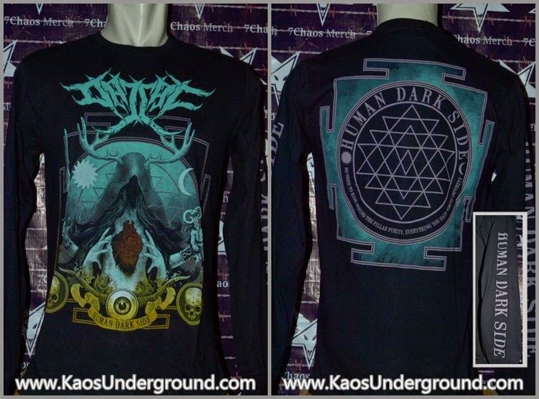 kaos dajjal human dark side longsleeve kaosunderground.com pin 74BB4458 7chaosmerch heretic