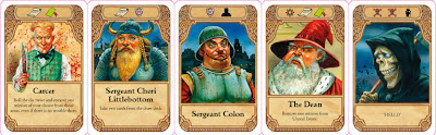 Ankh-Morpork - Some of the cards from the game