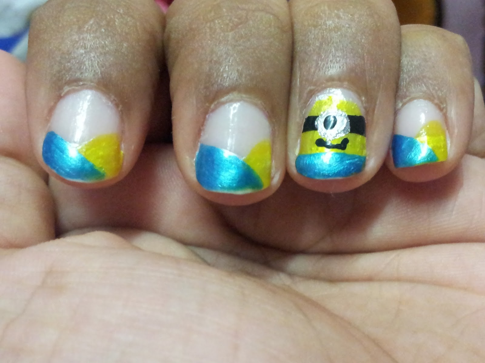 Despicable Me: Minion Nails | Sugar, Spice and Everything Nice