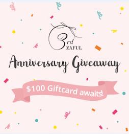 Anniversary Giveaway Zaful