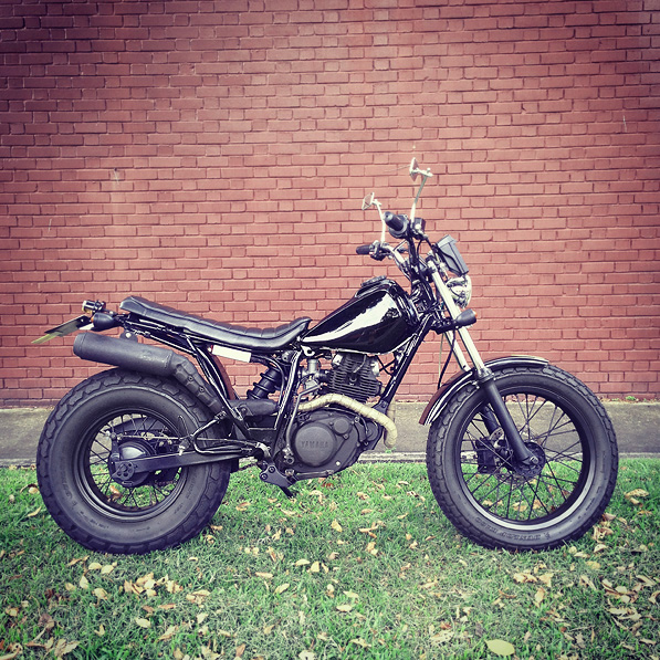 Yamaha Tw200 Modified Project: Custom Yamaha...