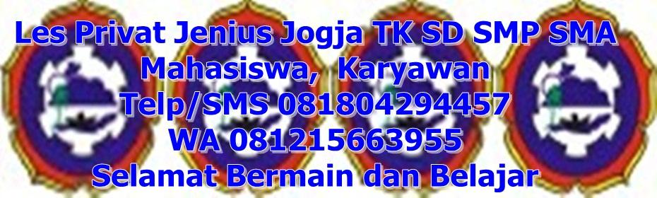 Les Privat Jenius di Jogja Yogyakarta
