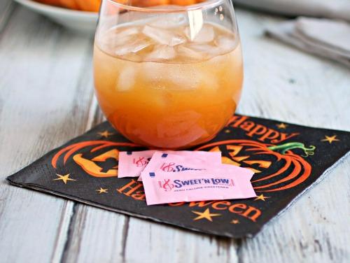 Sparkling Cider Pumpkin-tini