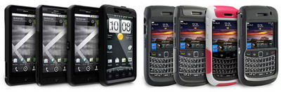 OtterBox Cases for DROID X, EVO 4G and BlackBerry Bold 9780 released