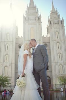 Married April 21, 2012 SLC temple