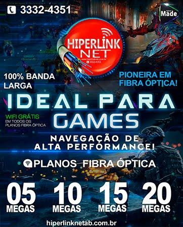 Hiperlink Net - Os melhores Planos Para Gamers