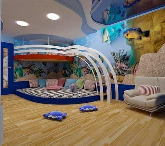 Chambre d 39 enfant garcon for La plus belle chambre de fille