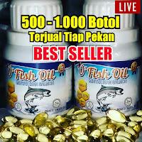 ofish oil, minyak ikan salmon, ikan salmon, minyak ikan, giza herbal, nutrisi otak