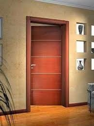 Fotos de puertas imagenes de puertas de madera minimalistas for Puertas de madera interiores minimalistas