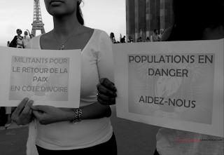 Appel à population en danger - Paix