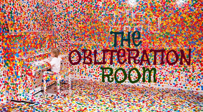 Step Inside The Obliteration Room