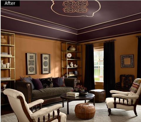 Dise o de salas en imagenes interiores por paulina Disenos de colores para interiores