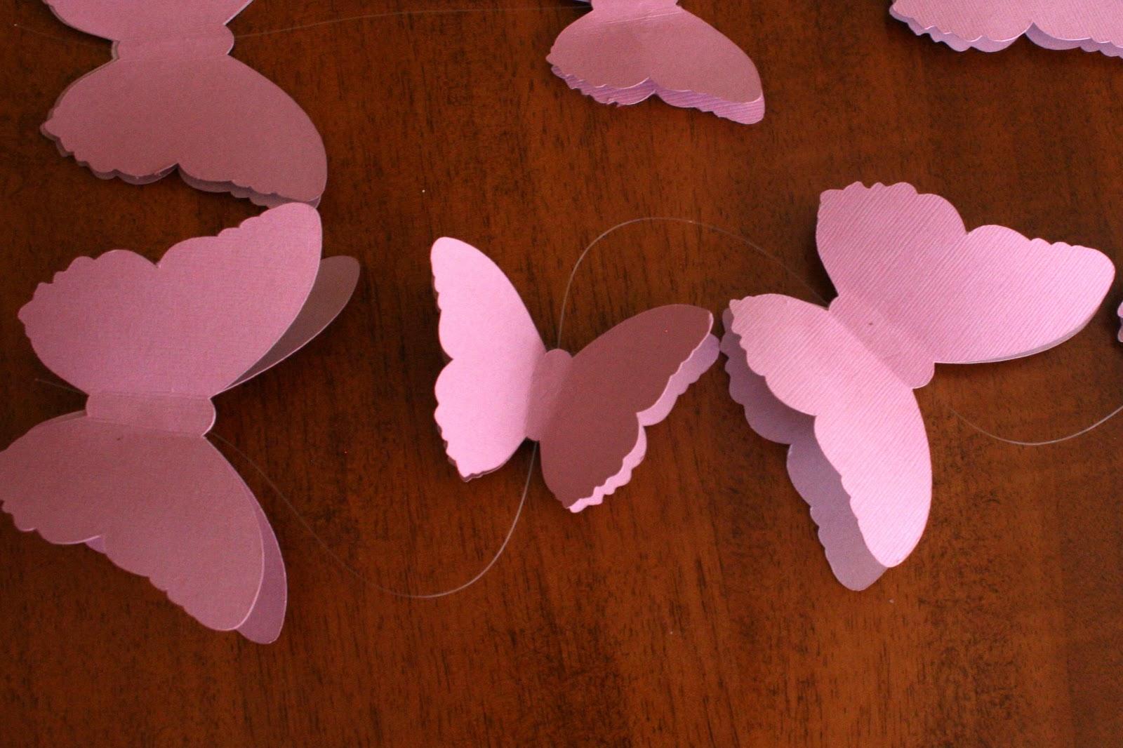 Объемная бабочка из бумаги своими руками 63