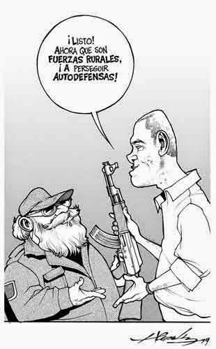 Caricatura de Estanislao Beltrán