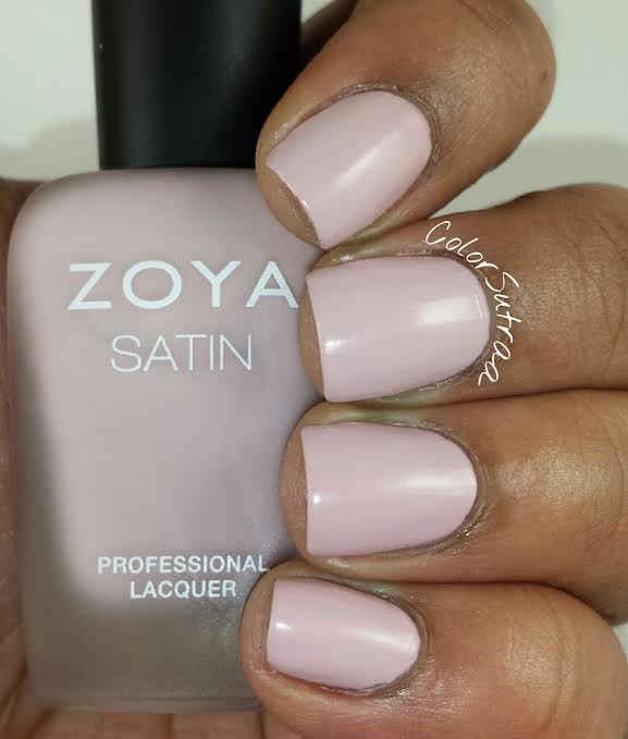 Zoya Brittany Swatches via Color Sutraa