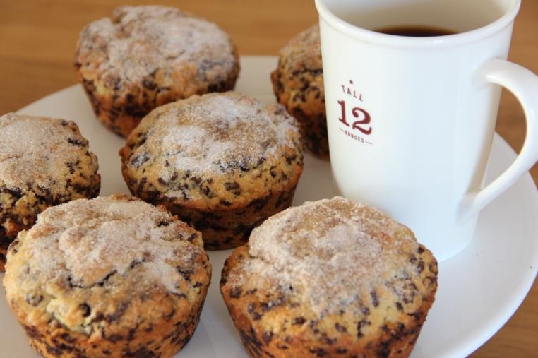kirschbiene kocht muffins mit zucker zimt kruste. Black Bedroom Furniture Sets. Home Design Ideas