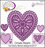 ODBD Custom Ornate Hearts