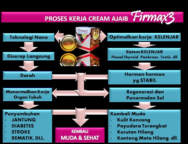 cara kerja firmax3 Firmax3 Cream Ajaib