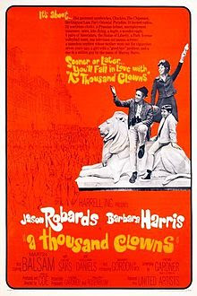 A Thousand Clowns 1965 Hollywood Movie Watch Online