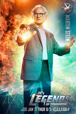 DC's Legends of Tomorrow Character Television Poster Set - Victor Garber as Dr. Martin Stein