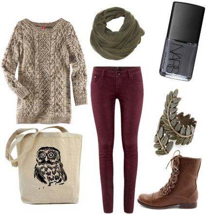 outfits para otoño/invierno casuales para adolescentes